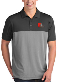 Cleveland Browns Antigua Venture Polo Shirt - Grey