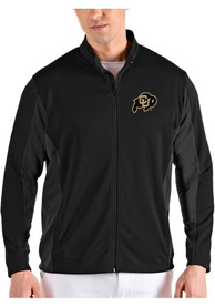 Colorado Buffaloes Antigua Passage Medium Weight Jacket - Black