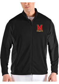 Maryland Terrapins Antigua Passage Medium Weight Jacket - Black