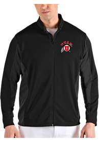 Utah Utes Antigua Passage Medium Weight Jacket - Black