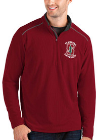 Stanford Cardinal Antigua Glacier 1/4 Zip Pullover - Red