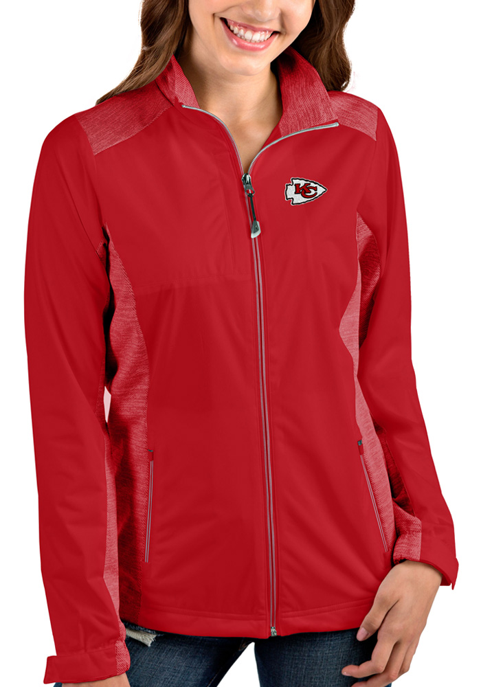 Antigua Kansas City Chiefs Womens Red Revolve Medium Weight Jacket - Image 1
