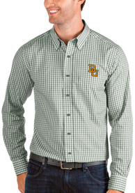 Baylor Bears Antigua Structure Dress Shirt - Green