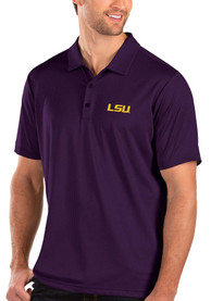 LSU Tigers Antigua Balance Polo Shirt - Purple