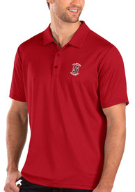 Stanford Cardinal Antigua Balance Polo Shirt - Red