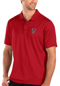 NC State Wolfpack Antigua Balance Polo Shirt - Red