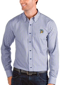 San Jose State Spartans Antigua Structure Dress Shirt - Blue