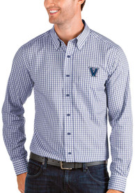 Villanova Wildcats Antigua Structure Dress Shirt - Blue