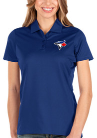Toronto Blue Jays Womens Antigua Balance Polo Shirt - Blue