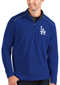 Los Angeles Dodgers Antigua Glacier 1/4 Zip Pullover - Blue