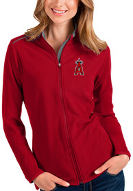 Los Angeles Angels Womens Antigua Glacier Light Weight Jacket - Red