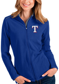Texas Rangers Womens Antigua Glacier Light Weight Jacket - Blue