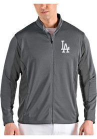 Los Angeles Dodgers Antigua Passage Medium Weight Jacket - Grey