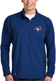 Toronto Blue Jays Antigua Sonar 1/4 Zip Pullover - Blue
