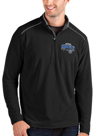 Orlando Magic Antigua Glacier 1/4 Zip Pullover - Black