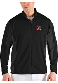 Toronto Raptors Antigua Passage Medium Weight Jacket - Black