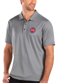 Detroit Pistons Antigua Balance Polo Shirt - Grey