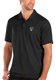 Brooklyn Nets Antigua Balance Polo Shirt - Black