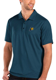 Indiana Pacers Antigua Balance Polo Shirt - Navy Blue