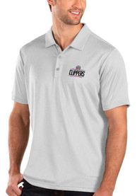 Los Angeles Clippers Antigua Balance Polo Shirt - White