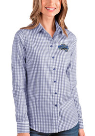 Orlando Magic Womens Antigua Structure Dress Shirt - Blue