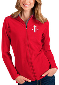Houston Rockets Womens Antigua Glacier Light Weight Jacket - Red