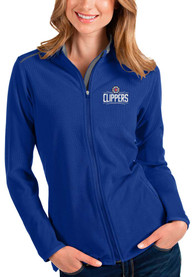 Los Angeles Clippers Womens Antigua Glacier Light Weight Jacket - Blue