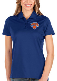Antigua New York Knicks Womens Blue Balance Polo