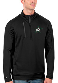 Dallas Stars Antigua Generation 1/4 Zip Pullover - Black