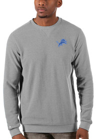 Detroit Lions Antigua Incline Sweater - Grey