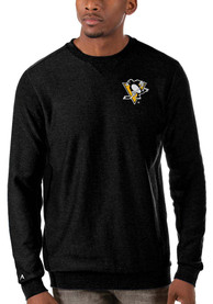 Pittsburgh Penguins Antigua Incline Sweater - Black