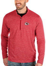 Kansas City Chiefs Antigua Capacity 1/4 Zip Pullover - Red