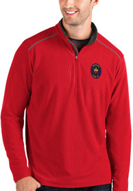 Chicago Fire Antigua Glacier 1/4 Zip Pullover - Red