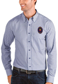 Chicago Fire Antigua Structure Dress Shirt - Blue