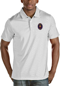 Chicago Fire Antigua Quest Polo Shirt - White
