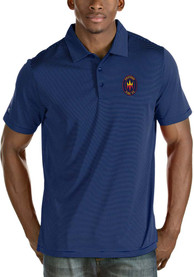 Chicago Fire Antigua Quest Polo Shirt - Blue