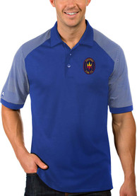 Chicago Fire Antigua Engage Polo Shirt - Blue