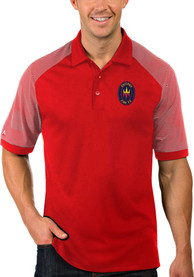 Chicago Fire Antigua Engage Polo Shirt - Red