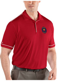 Chicago Fire Antigua Salute Polo Shirt - Red