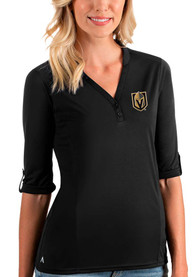 Vegas Golden Knights Womens Antigua Accolade T-Shirt - Black