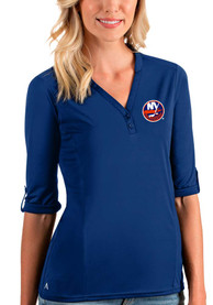 New York Islanders Womens Antigua Accolade T-Shirt - Blue