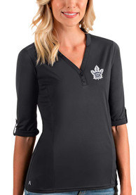Toronto Maple Leafs Womens Antigua Accolade T-Shirt - Grey