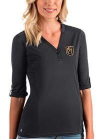 Vegas Golden Knights Womens Antigua Accolade T-Shirt - Grey