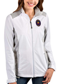 Chicago Fire Womens Antigua Revolve Light Weight Jacket - White
