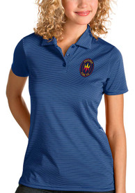 Chicago Fire Womens Antigua Quest Polo Shirt - Blue