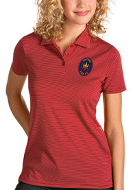 Chicago Fire Womens Antigua Quest Polo Shirt - Red