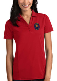 Chicago Fire Womens Antigua Tribute Polo Shirt - Red