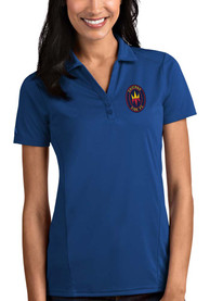 Chicago Fire Womens Antigua Tribute Polo Shirt - Blue