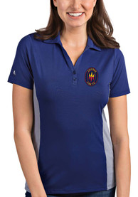 Chicago Fire Womens Antigua Venture Polo Shirt - Blue