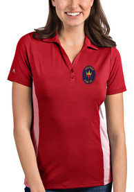 Chicago Fire Womens Antigua Venture Polo Shirt - Red